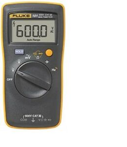 Fluke 101 Digital Multimeter With Free Shipping And Lowest Price