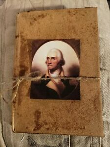 Primitive George Washington Picture Hardcover Book