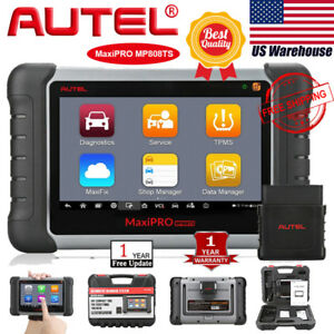Autel Maxipro Mp808ts Obd2 Diagnostics Scanner Tpms For Ford Gm Vw Lexus Nissan