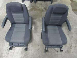 08 10 Caravan Town Country 2nd Seat Rear Bucket Second Captain Captains Chairs