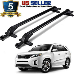 Top Roof Rack Cross Bar For Hyundai Santa Fe 2013 2018 Silver Luggage Carrier Us