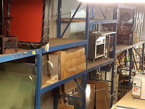 42 5 Sections Pallet Racking 6 16 Beams Warehouse Storage Rack 20 Rails
