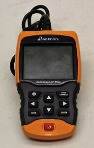 Actron Autoscanner Plus Automotive Tool Used Fast Free Ship