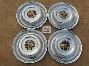 1958 Buick Special Century Riviera Limited 15 Wheel Covers Hubcaps Set Of 4