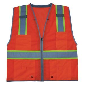 Imperial 924227 2 High Visibility Traffic Vest 4xl