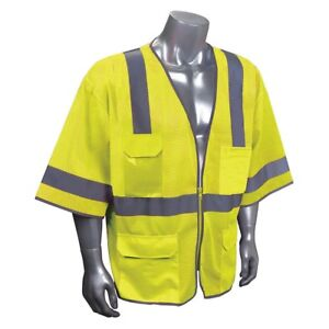 Imperial 926101 5 High Visibility Traffic Vest Xl