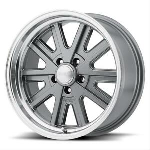 American Racing Vn52777012400 American Racing Vn527 Mag Gray Machined Lip