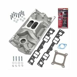 Sbc 350 Chevy Vortec Weiand 8121 Intake Manifold W gaskets Bolts Pro pack