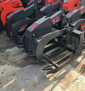 Mtl Attachment X series 80 Root Grapple Bucket Skid Steer Takeuchi cat 179 Ship