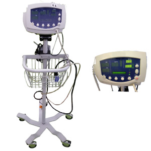 Welch Allyn 53nto Vital Sign Monitor Spo2 Nibp With Finger Sensor And Temp Probe