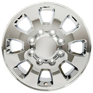 18 Chrome Wheels For Chevy Silverado Gmc Sierra 2500hd 3500hd 8x180 Set 4