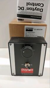 New Old Stock Dayton Dc Motor Speed Control 4z527h