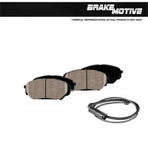 Front Brake Motive Ceramic Brake Pads For W Rubber Shims 2006 2007 Bmw 525i