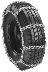 Rud Mud Service Single 265 75 17 Truck Tire Chains 2441m