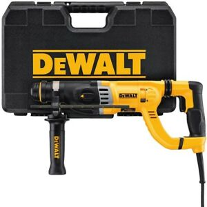 Dewalt D25263k 1 18 28mm Sds Plus 8 5 Amp Hammer Kit New