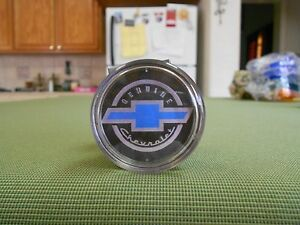 Black And Blue Chevy Steering Wheel Spinner Chevy Suicide Knob Chevy Brodie