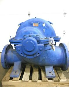 Mo 395 Worthington Ln Centrifugal Horizontal Split Case Pump 12 10 Inlets