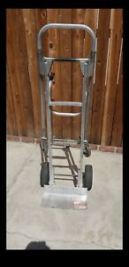 2 In 1 Hand Truck Dolly 2 Or 4 Wheel Heavy Duty