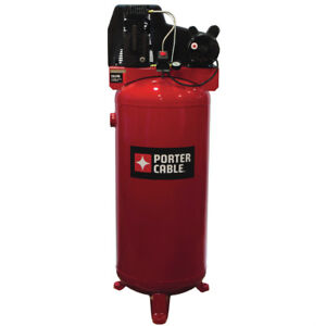Porter cable 60 Gallon Stationary Vertical Air Compressor Pxcmlc3706056 New