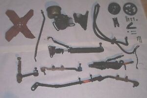 1965 Ford Falcon 6 Cylinder Power Steering Setup 65 66 Mustang Read Details
