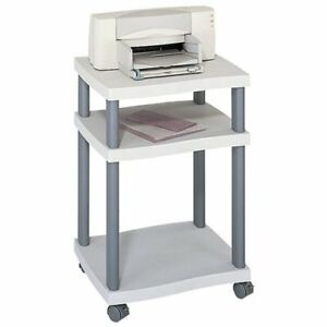 Safco Printer Stand 2 X Shelf ves 29 3 Height X 20 Width X 17 5 1860gr