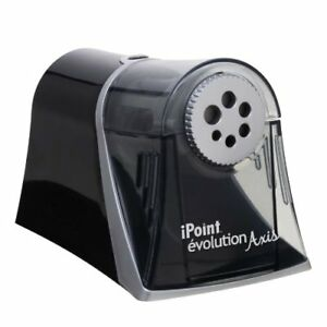 Acme United Ipoint Evolution Axis Pencil Sharpener Desktop Hole s 5 X 7 8