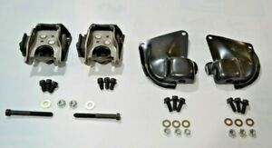 66 67 Chevelle Motor Mount Frame Mounts Bb Chevy Engine Only With Hardware New