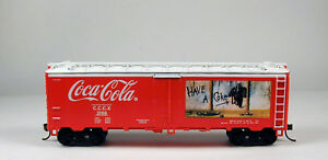 Coca-Cola Boxcar Train Car HO Scale Manufacturer Unknown No Package