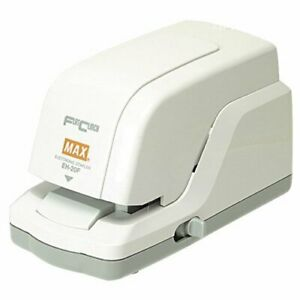 Max Flat Clinch Electronic Cartridge Stapler eh 20f eh20f