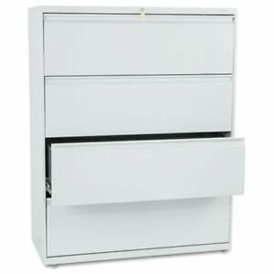 Hon 800 Series Full pull Lateral File 42 X 19 3 X 53 3 Steel 4 X File