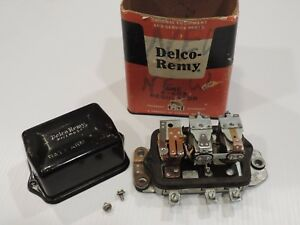Vintage 1950 s Delco Remy Voltage Regulator 6 Volt New Old Stock A 603