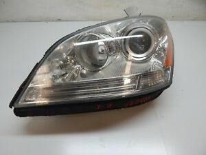 2006 2008 Mercedes Ml350 Ml500 Ml63 Left Driver Xenon Hid Afs Headlight Oem