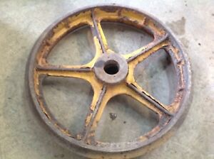 Used Bulldozer Crawler Front Idler Undercarriage Part Casting No 252180 01