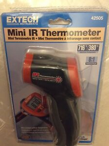 Brand New Extech 42505 Mini Ir Thermometer built in Laser Pointer 58 To716f 8 1