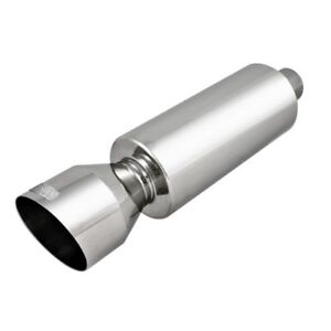 Dc Sports Stainless Steel Mirror Polish Finish Muffler Silencer With Tip Ex 5018