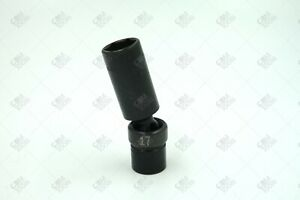 Sk Hand Tools 33387 3 8 Dr 17mm 6pt Deep Swivel Metric Impact Socket