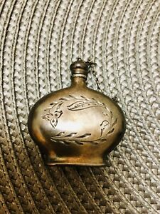 Russian Antique Vintage Silver 875 Perfume Bottle