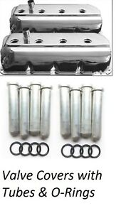Chrome 426 Hemi Valve Covers With Tubes O Rings New Valve Cover Kit