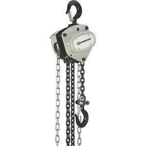 Strongway Manual Chain Hoist 2200 lb Capacity 20ft Lift