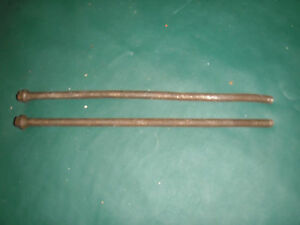 Antique Kochs Wood Barber Chair Part Long Bolts For The Piston Housing
