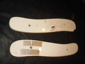 Antique Barber Chair Parts Top Of A Kochs Two Piece Arm Rest White Glass