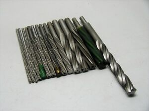 15 Chucking Reamers Straight Shank Spiral Flute Aircraft Tools