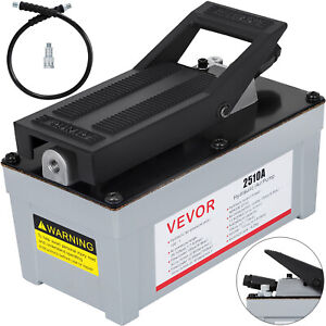 Air Powered Hydraulic Foot Pump Vevor 2510a 2 stage Pedal Control Single Acting