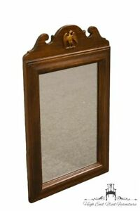 Ethan Allen Antiqued Pine Old Tavern 18x29 Wall Mirror W Eagle