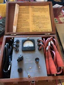 Antique James G Biddle Co Motor And Phase Rotation Tester Model 1