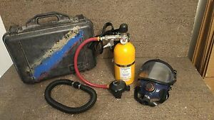 Willson Air System Regulator Mask And 2216 Psi Tank Fire Rescue Safety