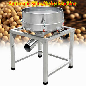 110v 300w 40mesh hour Vertical Vibration Motor Automatic Sifter Shaker Machine