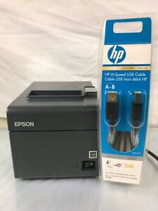 Epson Tm t20 M249a Pos Thermal Receipt Printer Auto cutter Serial Db9