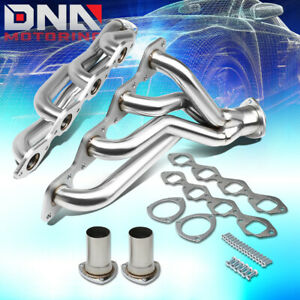 Stainless Steel Gm A Body Shorty Header For Chevy Big Block Bbc Exhaust Manifold