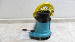 Little Giant Ht 10en cia fs 1 2 Hp 120v Wide Angle Float Submersible Sump Pump